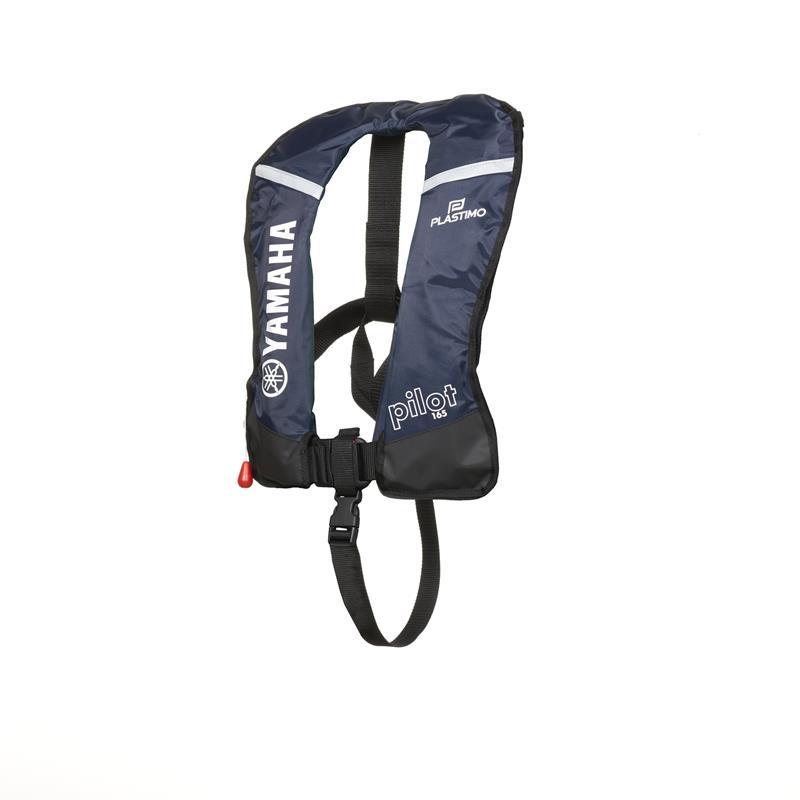 Yamaha Inflatable Lifevest 165N, Спасательный самонадуваемый жилет, Жилет страховочный, Жилет спасательный, Надувной спасательный жилет YAMAHA 165N, Самонадувающийся спасательный жилет Yamaha, Самонадувающийся спасательный жилет