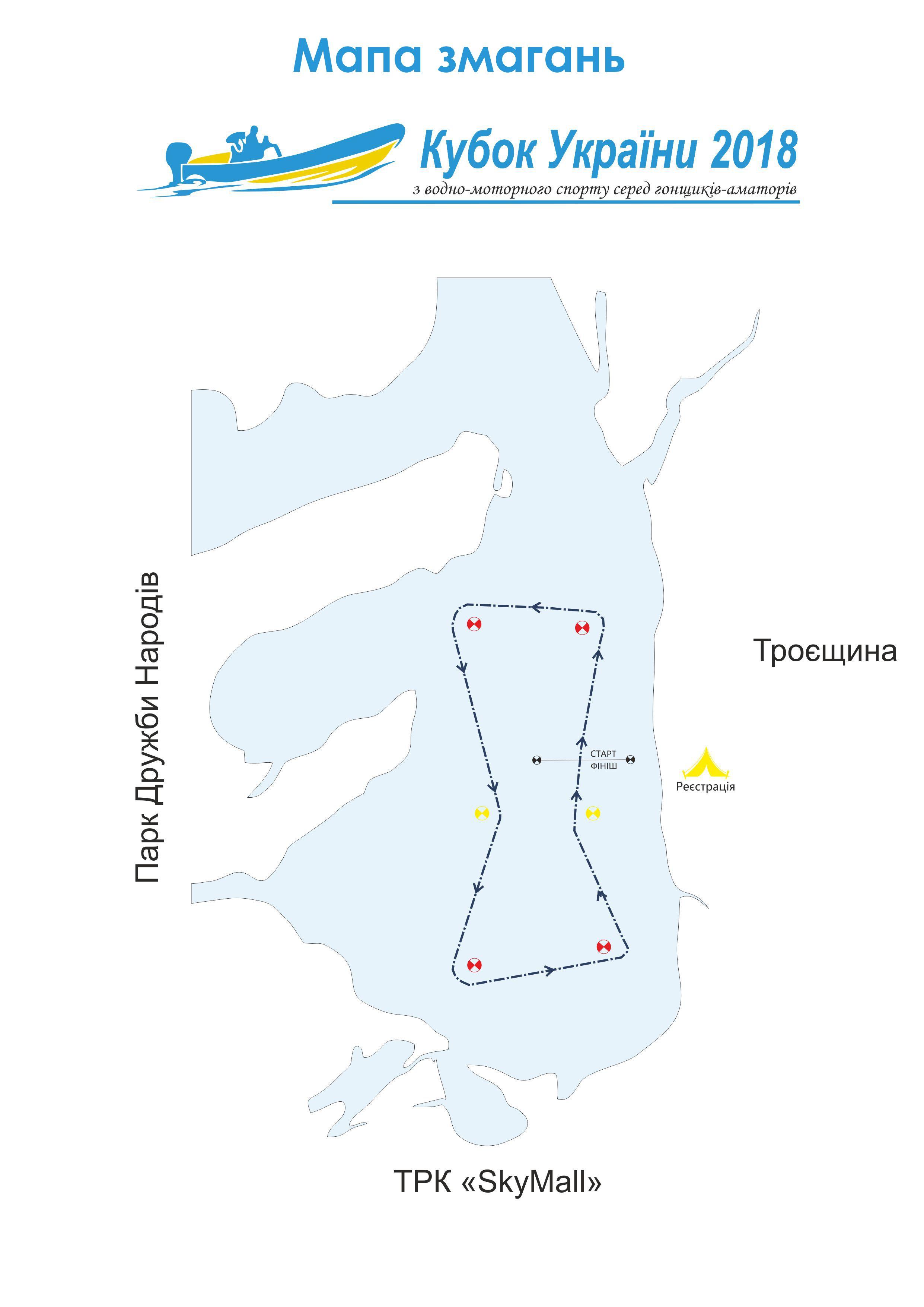 Кубок України з водно-моторного спорту 2018 року, гонки водно-моторные, кубок водно-моторного спортак