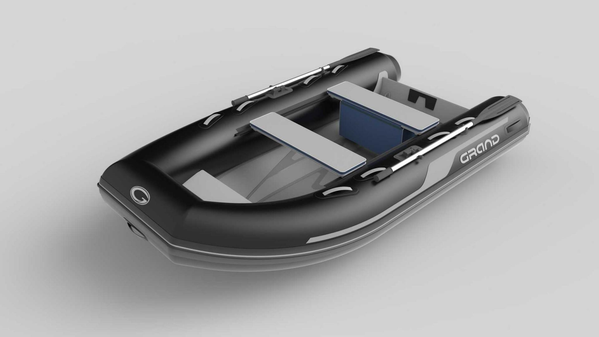 Надувная лодка с жестким алюминиевым дном GRAND Aluminum Line Alu270D,  Надувная лодка GRAND Aluminum Line Alu270D, GRAND Aluminum Line Alu270D, GRAND Alu270D, Надувная лодка GRAND, Надувная лодка ГРАНД, Надувная лодка с жестким дном, RIB, Rigid Inflatable Boats