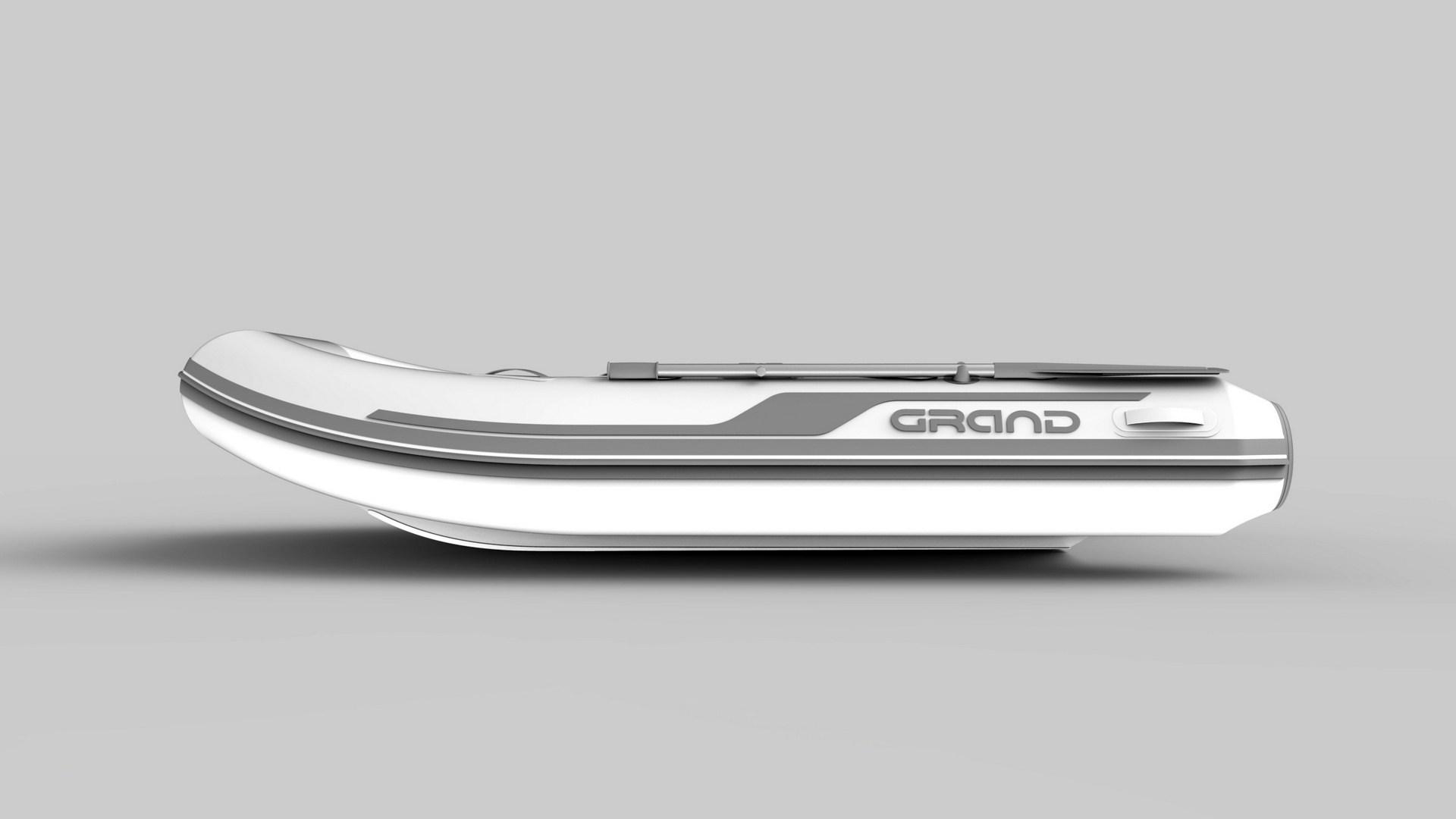 Надувная лодка с жестким алюминиевым дном GRAND Aluminum Line Alu300D,  Надувная лодка GRAND Aluminum Line Alu300D, GRAND Aluminum Line Alu300D, GRAND Alu300D, Надувная лодка GRAND, Надувная лодка ГРАНД, Надувная лодка с жестким дном, RIB, Rigid Inflatable Boats