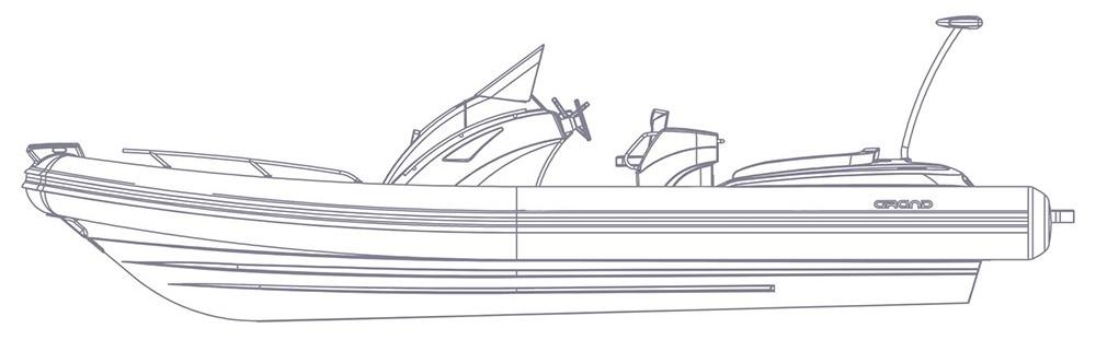 Надувная лодка  чертежи 9