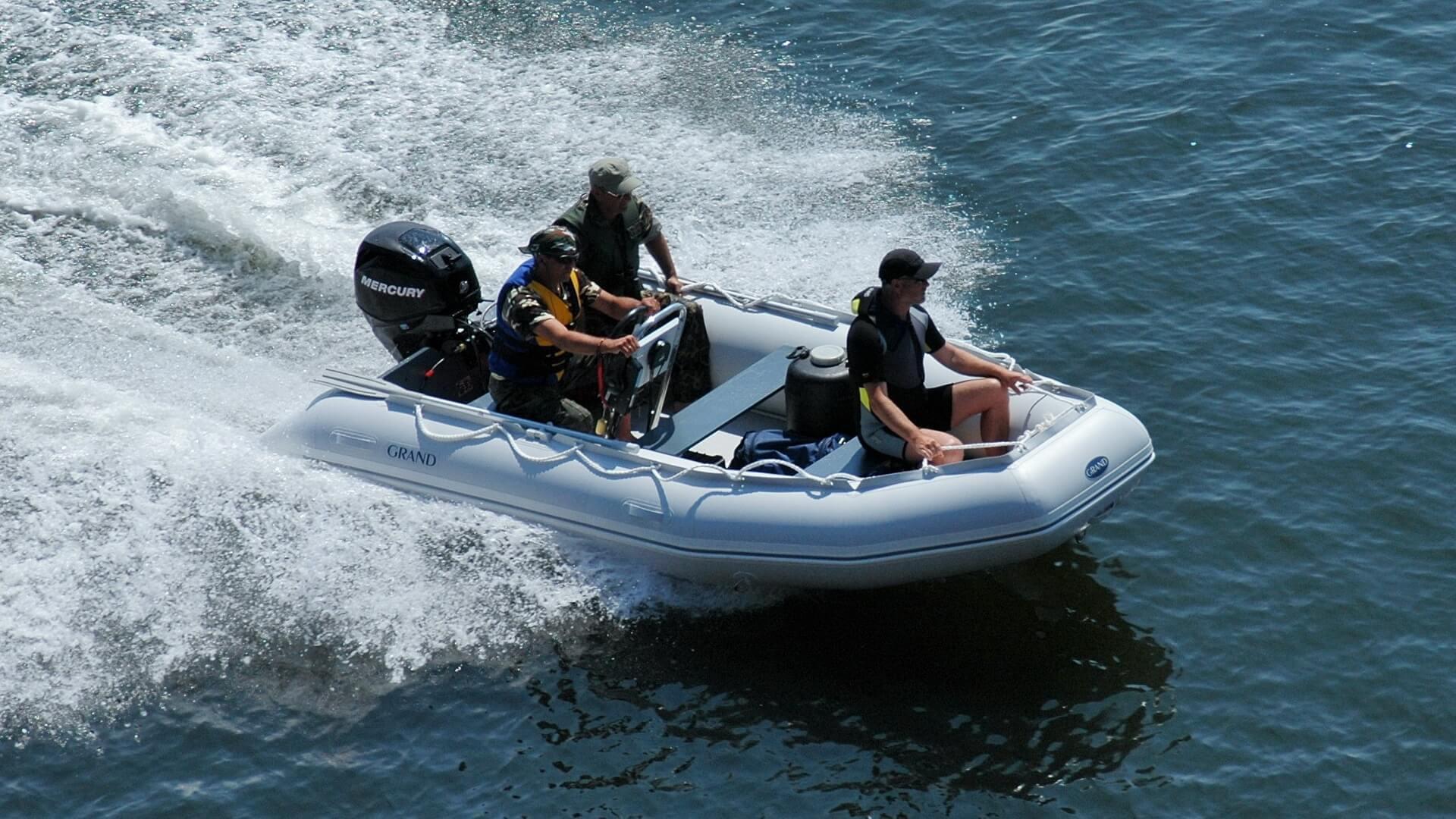 Складная надувная лодка с настилом GRAND Ranger R420, Надувная лодка GRAND Ranger R420, GRAND Ranger R420, GRAND R420, Надувная лодка GRAND, Надувная лодка ГРАНД, Разборная надувная лодка с настилом, Разборная надувная лодка, Fordable Boats