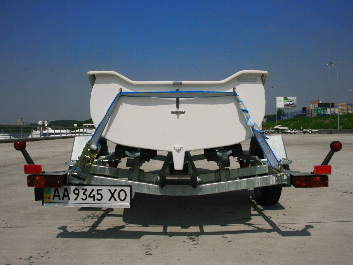 Прицеп для стеклопластиковой лодки GRAND RG370