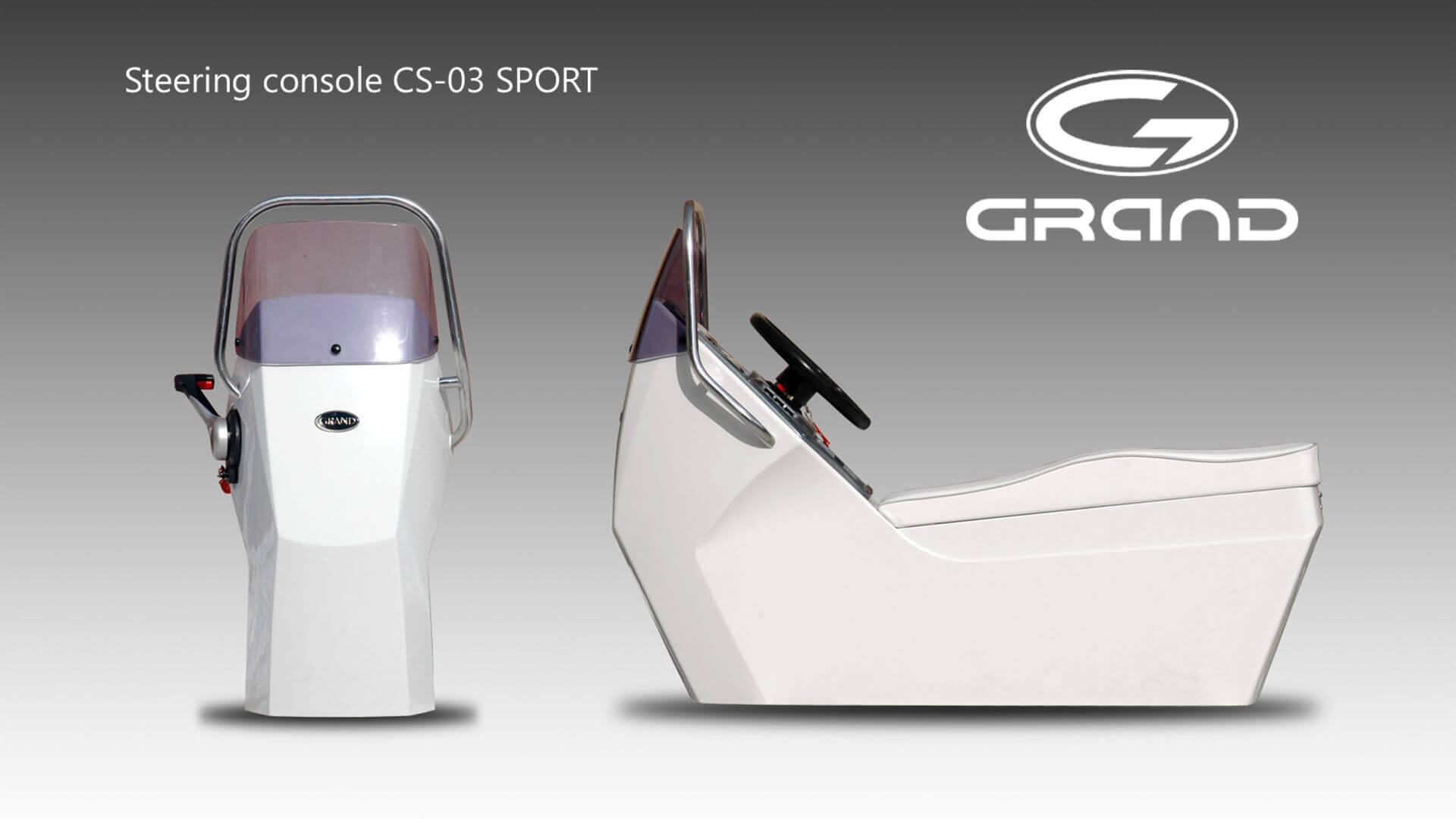 Надувная лодка с жестким дном GRAND Silver Line S420NS, Надувная лодка GRAND Silver Line S420NS, GRAND Silver Line S420NS, GRAND Silver Line S420NSF, GRAND S420NS, GRAND S420NSF, GRAND S420, Надувная лодка GRAND, Надувная лодка ГРАНД, Надувная лодка с жестким дном, RIB, Rigid Inflatable Boats, CS-03, рулевая консоль, CS03, рулевая консоль