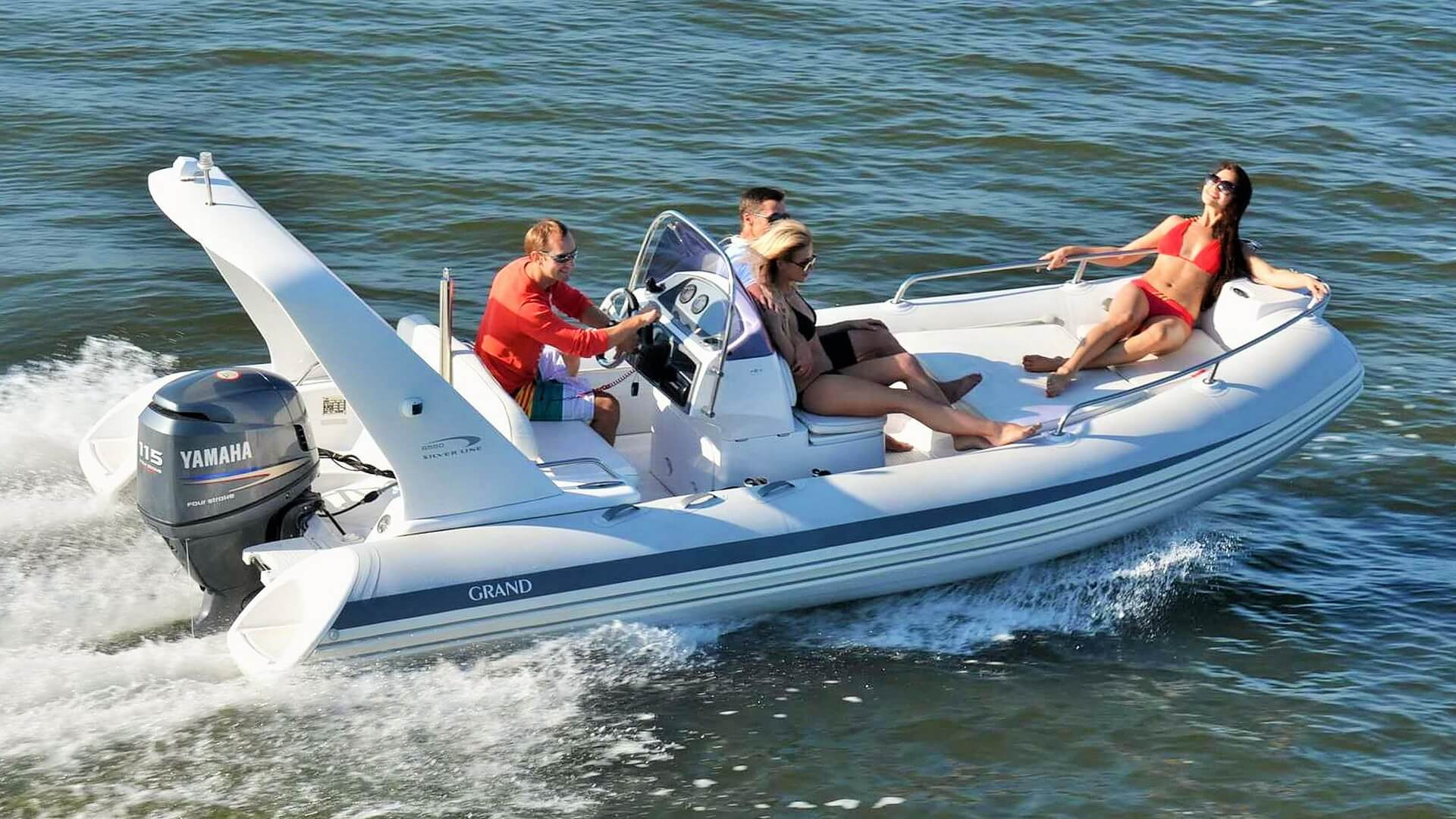 надувные лодки гранд с надувным дном