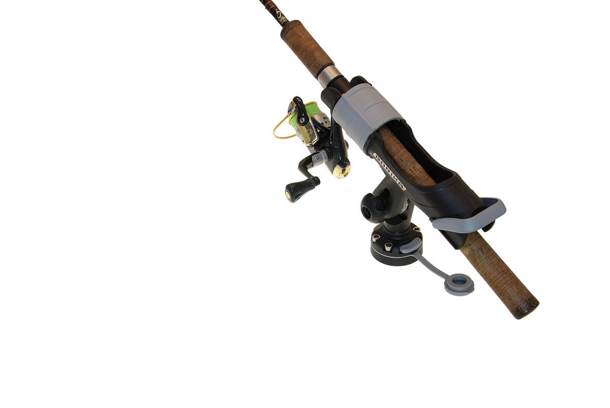 Держатель удилища с набором для установки на жесткий борт, универсальные держательные системы, Fasten, borika, htb213, fasten htb213, крепление для спиннинга, держатель для спининга, крепление на лодку пвх