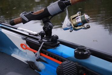 Держатель удилища с набором для установки на С-образный профиль, универсальные держательные системы, Fasten, borika, htf213, fasten htf213, крепление для спиннинга, держатель для спининга, крепление на лодку пвх