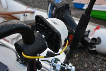 Площадка для эхолота и другого оборудования, универсальные держательные системы, Fasten, borika, sl223, fasten sl223, площадка для лодок пвх, площадка для эхолота, крепление на лодку пвх