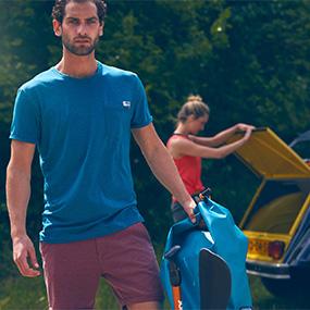 JOBE, 595116001, Discover T-shirt Teal, Men, футболка, мужская