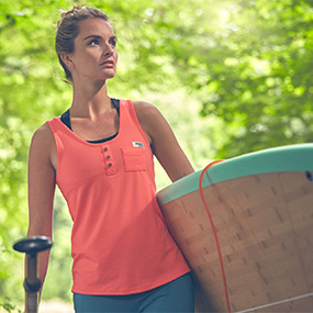JOBE, 595116012, Discover Tanktop Coral, Women, майка, женская, футболка