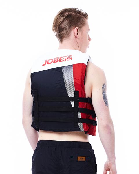 Progress Dual Vest Red JOBE, 244815009, Жилет спасательный унисекс, Жилет страховочный unisex, Жилет страховочный, Жилет спасательный