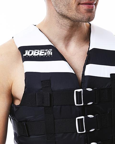 4 Buckle Vest Black JOBE, 244817570, Жилет спасательный унисекс, Жилет страховочный unisex, Жилет страховочный, Жилет спасательный