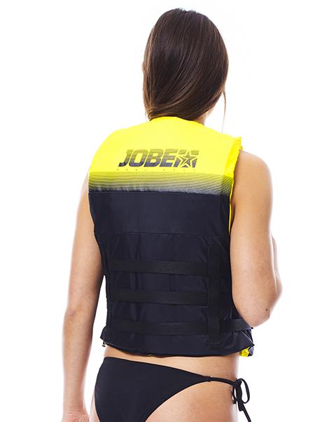 Dual Vest Yellow JOBE, 244817575, Жилет спасательный унисекс, Жилет страховочный unisex, Жилет страховочный, Жилет спасательный