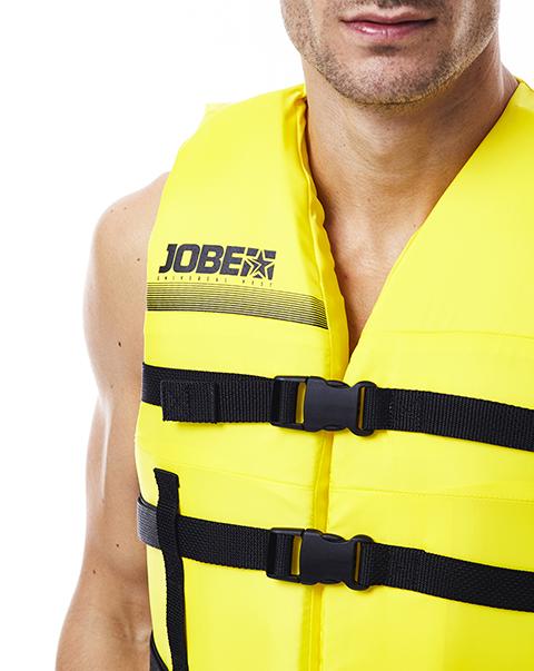 Universal Vest Yellow JOBE, 244817576, Жилет спасательный унисекс, Жилет страховочный unisex, Жилет страховочный, Жилет спасательный