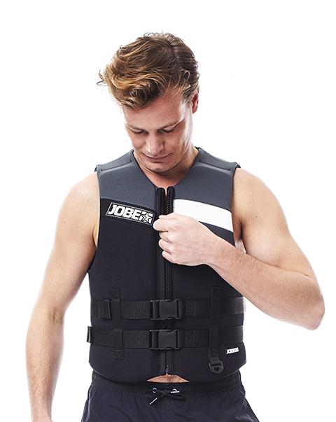 Neoprene Vest Men Black JOBE, 244917108, Жилет страховочный мужской, Жилет страховочный, Жилет спасательный