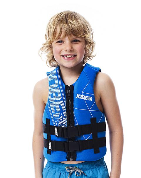 Neoprene Vest Youth Blue JOBE, 244917302, Жилет страховочный детский, Жилет страховочный, Жилет спасательный подростковый, Жилет страховочный подростковый