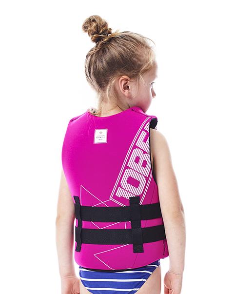 Neoprene Vest Youth Pink JOBE, 244917304, Жилет страховочный детский, Жилет страховочный, Жилет спасательный подростковый, Жилет страховочный подростковый