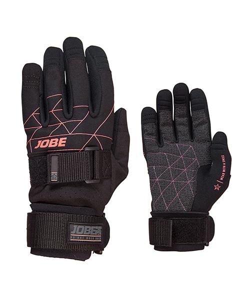 Gloves Women JOBE, Grip Gloves Women JOBE, 341117003, JOBE 341117003, Перчатки для водных видов спорта, перчатки для гидроцикла, перчатки для гидры, перчатки для вейка, перчатки для водного спорта, перчатки для вейкборда, перчатки, gloves, перчатки JOBE, перчатки для водных лыж, женские перчатки