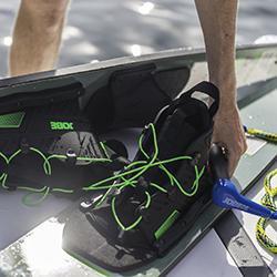 Ski Combo Transfer Blue JOBE, 211217006, JOBE 211217006, 211214005, JOBE 211214005, Буксировочный фал и рукоятка для водных лыж, Буксировочный фал и рукоятка для лыж, фал для водных лыж, трос для водных лыж, фал для лыж, нетонущий фал