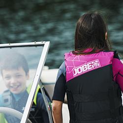 Nylon Vest Youth Pink JOBE, 244817372, Жилет страховочный детский, Жилет страховочный, Жилет спасательный подростковый, Жилет страховочный подростковый