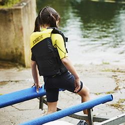 Nylon Vest Youth Yellow JOBE, 244817373, Жилет страховочный детский, Жилет страховочный, Жилет спасательный подростковый, Жилет страховочный подростковый
