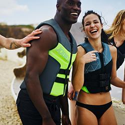 Neoprene Vest Women Lime JOBE, 244917203, Жилет страховочный женский, Жилет страховочный, Жилет спасательный