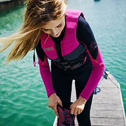 Neoprene Vest Women Pink JOBE, 244917204, Жилет страховочный женский, Жилет страховочный, Жилет спасательный