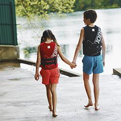 Neoprene Vest Youth Black JOBE, 244917301, Жилет страховочный детский, Жилет страховочный, Жилет спасательный подростковый, Жилет страховочный подростковый