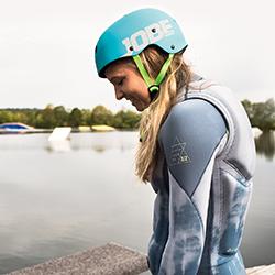 Slam Helmet Blue JOBE, 370016003, JOBE 370016003, Шлем для водных видов спорта, шлем для гидроцикла, шлем для гидры, шлем для вейка, шлем для водного спорта, шлем для вейкборда, шлем, helmet, шлем JOBE, шлем для водных лыж, шлем для рафтинга, защитный шлем