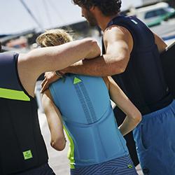 Hybrid Comp Vest Men Lime JOBE, 554017004, Жилет страховочный мужской, Жилет страховочный, Жилет спасательный