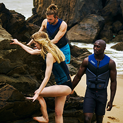 Comp Vest Zipper Women Black JOBE, Comp Vest Women Black JOBE, 554117003, Жилет страховочный женский, Жилет страховочный, Жилет спасательный