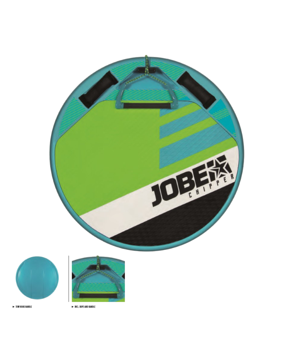 Chipper Multi Position Board with Handle JOBE, Chipper JOBE, 252518001, JOBE 252518001, Chipper, Универсальная доска для катания за катером, водная доска, доска, вейкскейт, вейксерф, мультидоска