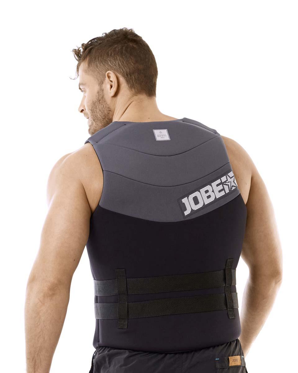 Neoprene Vest Men Black JOBE, Vest Men JOBE, 244918104, JOBE 244918104, Жилет страховочный мужской, Жилет страховочный, Жилет спасательный, водный жилет
