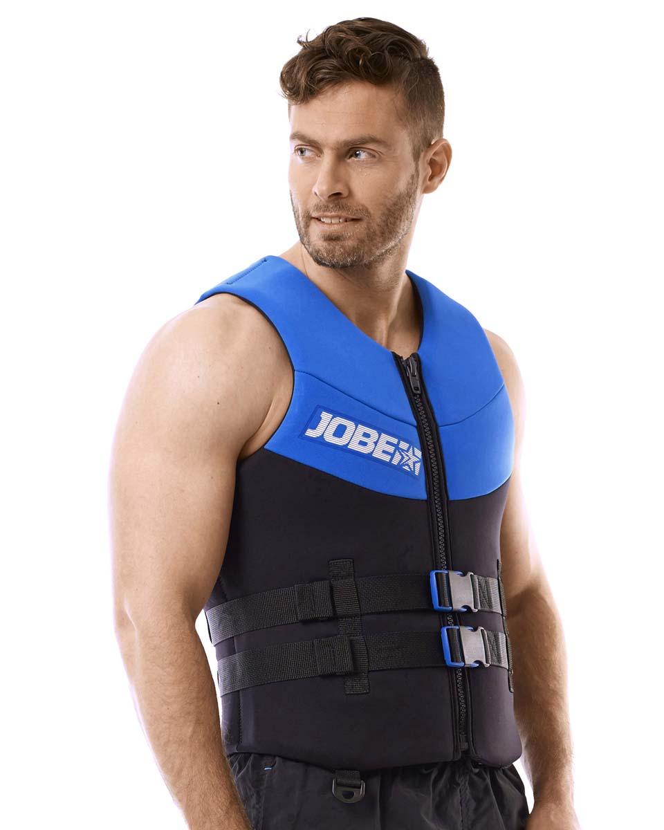 Neoprene Vest Men Blue JOBE, Vest Men JOBE, 244918106, JOBE 244918106, Жилет страховочный мужской, Жилет страховочный, Жилет спасательный, водный жилет