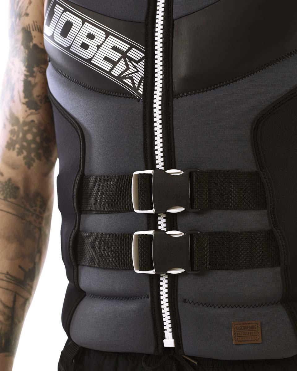 Segmented Jet Vest Backsupport Men JOBE, Vest Men JOBE, 244918108, JOBE 244918108, Жилет страховочный мужской, Жилет страховочный, Жилет спасательный, водный жилет, страховочный жилет с защитой спины