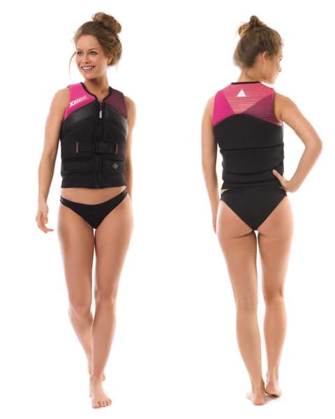 Unify Vest Women Pink JOBE, 244918201, JOBE 244918201, Жилет страховочный женский, Жилет страховочный, Жилет спасательный, водный жилет, женский страховочный жилет, женский водный жилет, женский жилет для воды