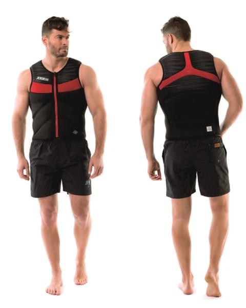 Hybrid Comp Vest Men JOBE, Vest Men JOBE, 554018003, JOBE 554018003, Жилет страховочный мужской, Жилет страховочный, Жилет спасательный, водный жилет