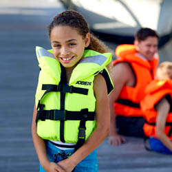 Comfort Boating Vest Youth Yellow JOBE, 244817374, JOBE 244817374, JOBE 240212005, 240212005, Жилет страховочный детский, Жилет страховочный, Жилет спасательный подростковый, Жилет страховочный подростковый, детский водный жилет, жилеты JOBE