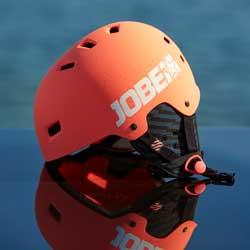 Base Helmet Coral Red JOBE, 370017004, JOBE 370017004, Шлем для водных видов спорта, шлем для гидроцикла, шлем для гидры, шлем для вейка, шлем для водного спорта, шлем для вейкборда, шлем, helmet, шлем JOBE, шлем для водных лыж, шлем для рафтинга, защитный шлем, женский шлем, шлем женский, шлем для девушек