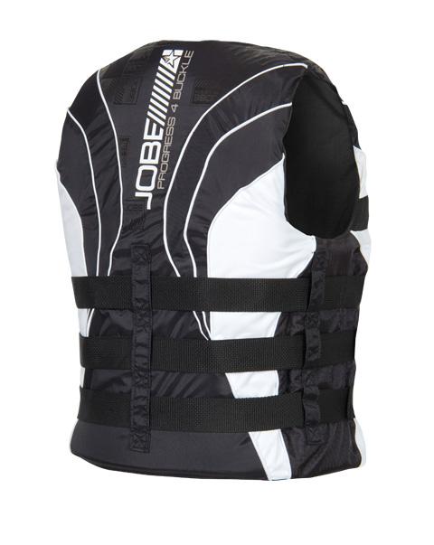 Progress 4 Buckle Vest Black JOBE, 244813001, Жилет спасательный унисекс, Жилет страховочный unisex, Жилет страховочный, Жилет спасательный