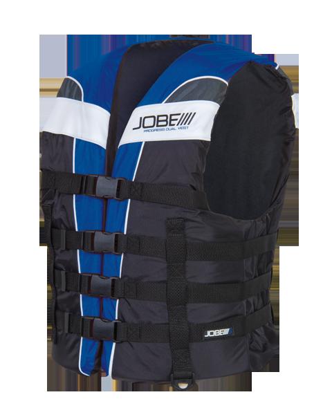 Progress Dual Vest Blue JOBE, 244813004,  Жилет спасательный унисекс, Жилет страховочный unisex, Жилет страховочный, Жилет спасательный