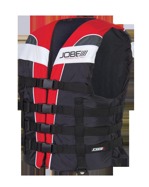 Progress Dual Vest Red JOBE, 244813005, Жилет спасательный унисекс, Жилет страховочный unisex, Жилет страховочный, Жилет спасательный