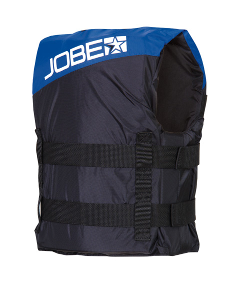 Progress Nylon Vest Youth Blue JOBE, 244813008, Жилет страховочный детский, Жилет страховочный, Жилет спасательный подростковый, Жилет страховочный подростковый