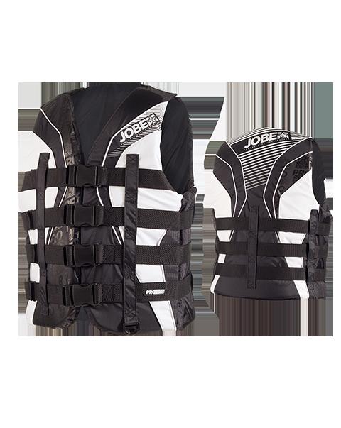 Progress 4 Buckle Vest Black JOBE, 244815012, Жилет спасательный унисекс, Жилет страховочный unisex, Жилет страховочный, Жилет спасательный