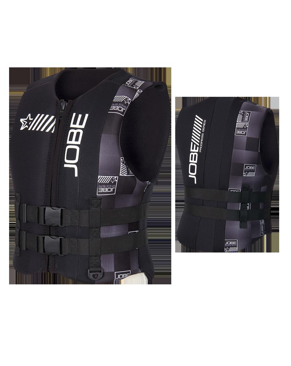 Progress Neo Vest Men Black JOBE, 244913001, Жилет страховочный мужской, Жилет страховочный, Жилет спасательный