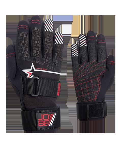 Progress Gloves Ralvec JOBE, 341113003, JOBE 341113003, Перчатки для водных видов спорта, перчатки для гидроцикла, перчатки для гидры, перчатки для вейка, перчатки для водного спорта, перчатки для вейкборда, перчатки, gloves, перчатки JOBE, перчатки для водных лыж