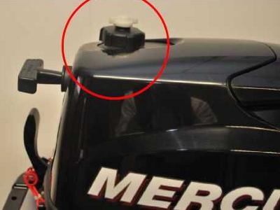 крышка лодочного мотора mercury