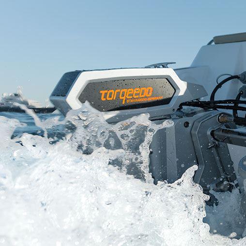 Лодочный электромотор, Torqeedo, Cruiser, 10.0 RXL, 10.0, крепление на транец