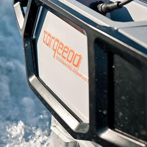 Лодочный электромотор, Torqeedo, Cruiser, 4.0 RL, 4.0, крепление на транец