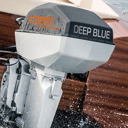 Лодочный электромотор, Torqeedo, Deep Blue, 40.0 RL, 40.0, крепление на транец
